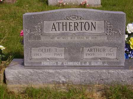 ATHERTON, ARTHUR C. - Meigs County, Ohio | ARTHUR C. ATHERTON - Ohio Gravestone Photos