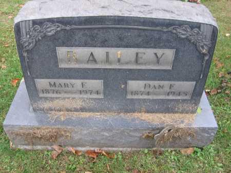 BAILEY, MARY E. - Meigs County, Ohio | MARY E. BAILEY - Ohio Gravestone Photos