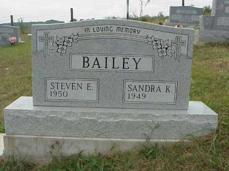 BAILEY, SANDRA K. - Meigs County, Ohio | SANDRA K. BAILEY - Ohio Gravestone Photos