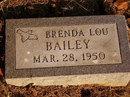 BAILEY, BRENDA LOU - Meigs County, Ohio | BRENDA LOU BAILEY - Ohio Gravestone Photos