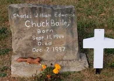 BAILEY, CHUCK - Meigs County, Ohio | CHUCK BAILEY - Ohio Gravestone Photos