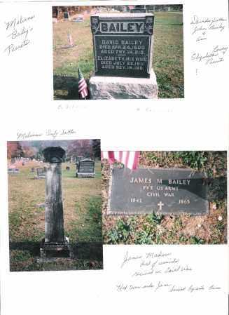 BAILEY, JAMES MADISON - Meigs County, Ohio | JAMES MADISON BAILEY - Ohio Gravestone Photos