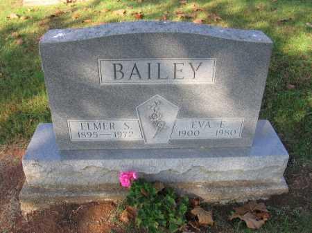BAILEY, EVA E. - Meigs County, Ohio | EVA E. BAILEY - Ohio Gravestone Photos