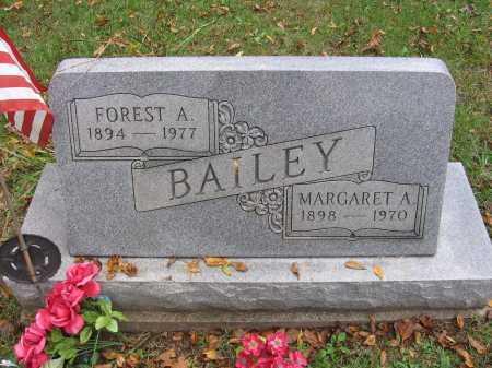 BAILEY, MARGARET - Meigs County, Ohio   MARGARET BAILEY - Ohio Gravestone Photos