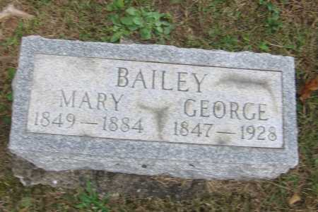 BAILEY, MARY - Meigs County, Ohio | MARY BAILEY - Ohio Gravestone Photos
