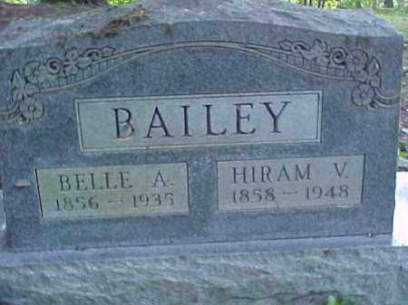 BAILEY, HIRAM V. - Meigs County, Ohio | HIRAM V. BAILEY - Ohio Gravestone Photos
