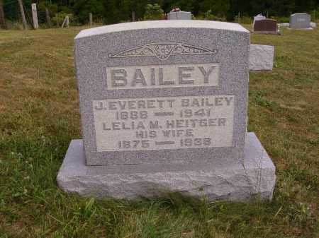 BAILEY, LELIA M. - Meigs County, Ohio | LELIA M. BAILEY - Ohio Gravestone Photos