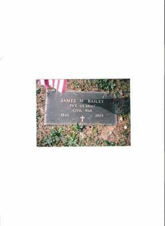BAILEY, JAMES MADISON - Meigs County, Ohio   JAMES MADISON BAILEY - Ohio Gravestone Photos
