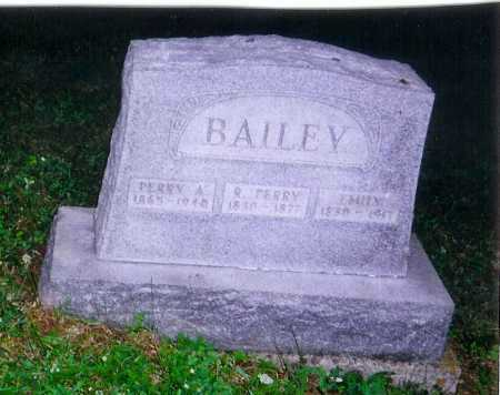 BAILEY, R. PERRY - Meigs County, Ohio | R. PERRY BAILEY - Ohio Gravestone Photos