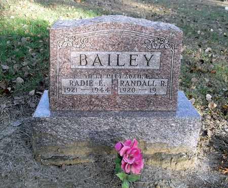 BAILEY, RADIE ELIZABETH - Meigs County, Ohio | RADIE ELIZABETH BAILEY - Ohio Gravestone Photos