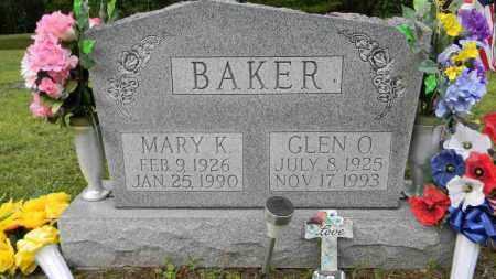 BAKER, GLEN O. - Meigs County, Ohio | GLEN O. BAKER - Ohio Gravestone Photos