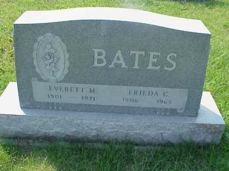 BATES, EVERETT M. - Meigs County, Ohio | EVERETT M. BATES - Ohio Gravestone Photos