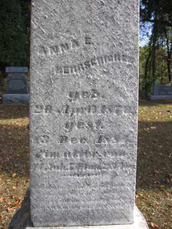 BERGSCHICKER, ANNA - Meigs County, Ohio | ANNA BERGSCHICKER - Ohio Gravestone Photos