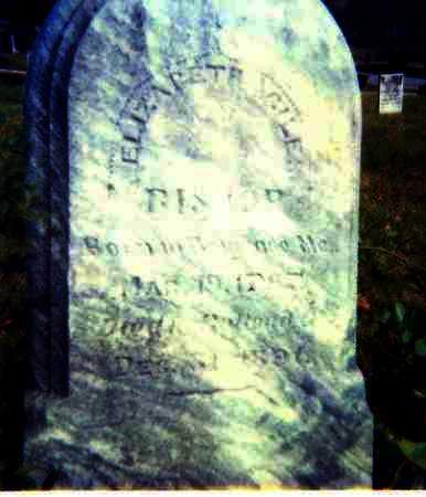 BISHOP, ELIZABETH - Meigs County, Ohio | ELIZABETH BISHOP - Ohio Gravestone Photos