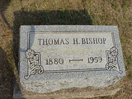 BISHOP, THOMAS H. - Meigs County, Ohio | THOMAS H. BISHOP - Ohio Gravestone Photos