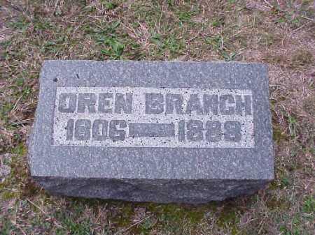 BRANCH, OREN - Meigs County, Ohio   OREN BRANCH - Ohio Gravestone Photos