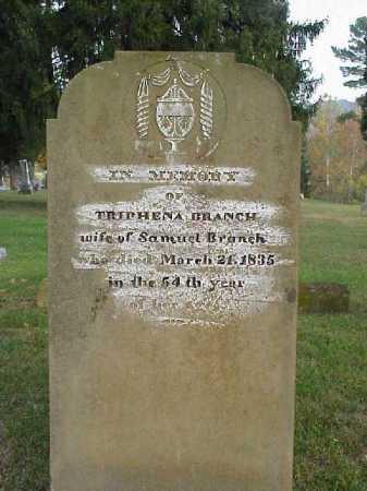 BRANCH, TRIPHENA - Meigs County, Ohio   TRIPHENA BRANCH - Ohio Gravestone Photos