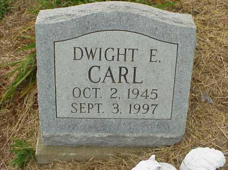 CARL, DWIGHT E. - Meigs County, Ohio   DWIGHT E. CARL - Ohio Gravestone Photos