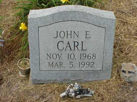 CARL, JOHN E. - Meigs County, Ohio | JOHN E. CARL - Ohio Gravestone Photos