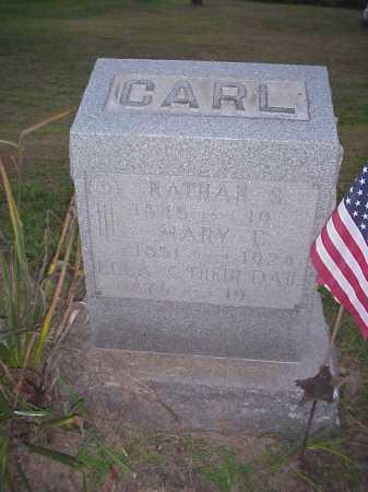 CARL, MARY E. - Meigs County, Ohio | MARY E. CARL - Ohio Gravestone Photos