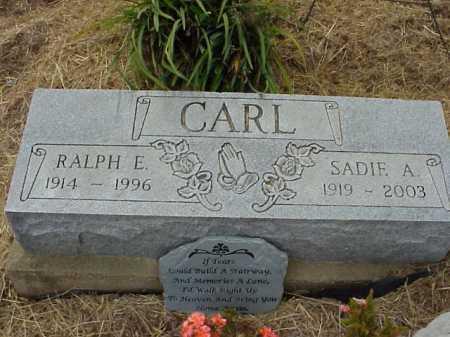 CARL, RALPH E. - Meigs County, Ohio | RALPH E. CARL - Ohio Gravestone Photos