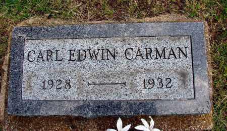 CARMAN, CARL EDWIN - Meigs County, Ohio | CARL EDWIN CARMAN - Ohio Gravestone Photos