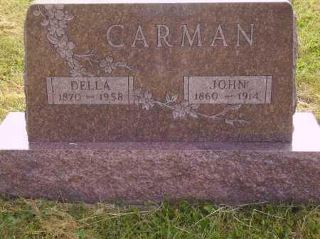 CARMAN, JOHN - Meigs County, Ohio | JOHN CARMAN - Ohio Gravestone Photos