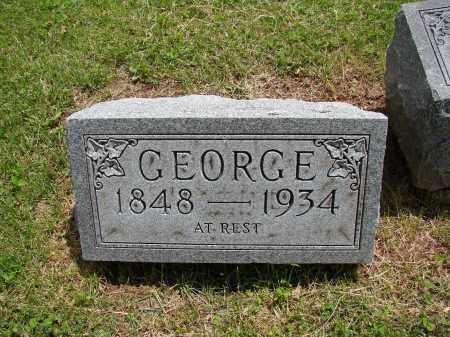 CARMAN, GEORGE - Meigs County, Ohio | GEORGE CARMAN - Ohio Gravestone Photos