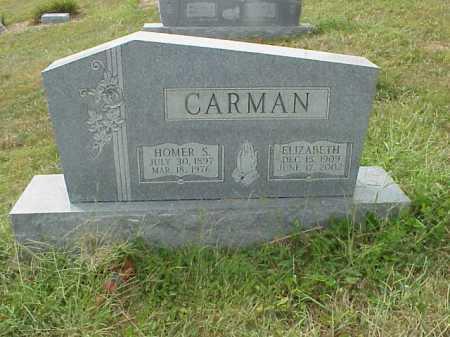 CARMAN, HOMER S. - Meigs County, Ohio | HOMER S. CARMAN - Ohio Gravestone Photos