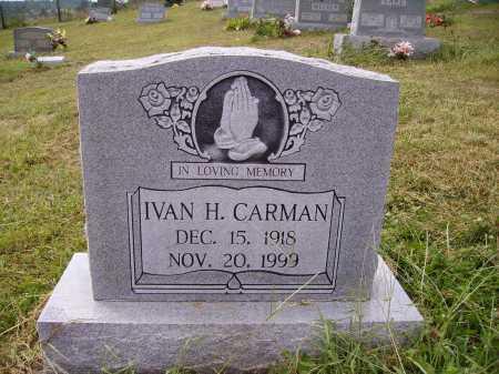 CARMAN, IVAN H. - Meigs County, Ohio | IVAN H. CARMAN - Ohio Gravestone Photos