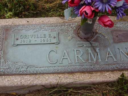 CARMAN, ORVILLE E. - Meigs County, Ohio | ORVILLE E. CARMAN - Ohio Gravestone Photos