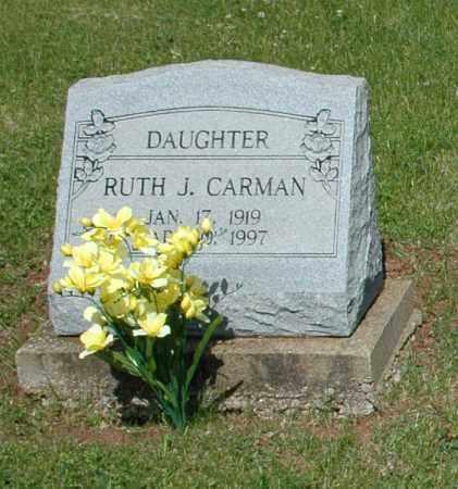 CARMAN, RUTH JEANETTE - Meigs County, Ohio | RUTH JEANETTE CARMAN - Ohio Gravestone Photos