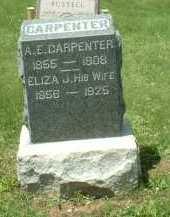 KINDLE HYSELL, ELIZA JANE - Meigs County, Ohio   ELIZA JANE KINDLE HYSELL - Ohio Gravestone Photos