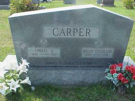 GILLILAND CARPER, HELEN - Meigs County, Ohio   HELEN GILLILAND CARPER - Ohio Gravestone Photos