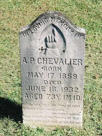 CHEVALIER, A. [ARTHUR] P. - Meigs County, Ohio | A. [ARTHUR] P. CHEVALIER - Ohio Gravestone Photos