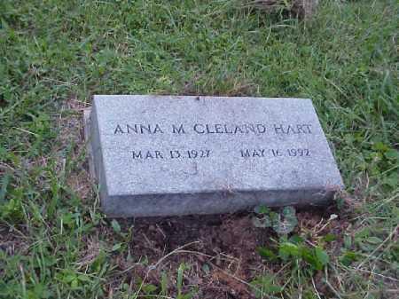 CLELAND, ANNA M. - Meigs County, Ohio   ANNA M. CLELAND - Ohio Gravestone Photos
