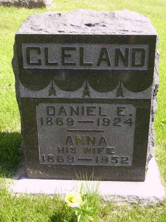 CLELAND, DANIEL E. - Meigs County, Ohio | DANIEL E. CLELAND - Ohio Gravestone Photos