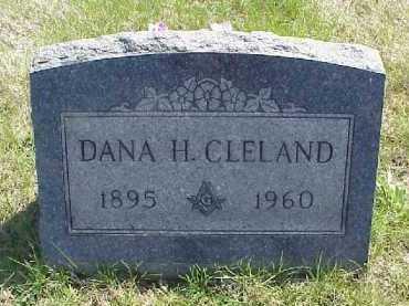 CLELAND, DANA H. - Meigs County, Ohio | DANA H. CLELAND - Ohio Gravestone Photos