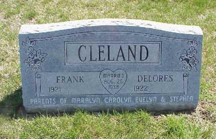 CLELAND, DELORES - Meigs County, Ohio | DELORES CLELAND - Ohio Gravestone Photos