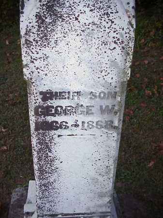 CLELAND, GEORGE W. - Meigs County, Ohio   GEORGE W. CLELAND - Ohio Gravestone Photos