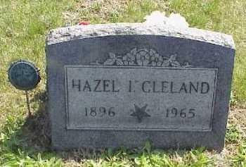 CLELAND, HAZEL I. - Meigs County, Ohio   HAZEL I. CLELAND - Ohio Gravestone Photos