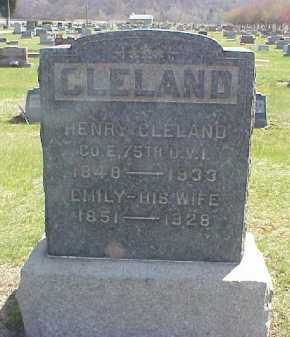 CLELAND, HENRY C. - Meigs County, Ohio | HENRY C. CLELAND - Ohio Gravestone Photos