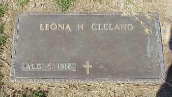 CLELAND, LEONA H. - Meigs County, Ohio   LEONA H. CLELAND - Ohio Gravestone Photos