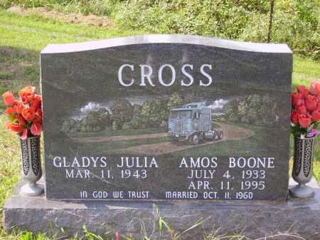 CROSS, GRADYS JULIA - Meigs County, Ohio | GRADYS JULIA CROSS - Ohio Gravestone Photos