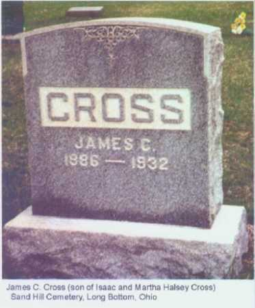 CROSS, JAMES C. - Meigs County, Ohio   JAMES C. CROSS - Ohio Gravestone Photos