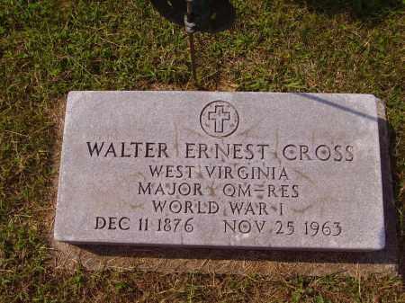 CROSS, WALTER ERNEST - Meigs County, Ohio | WALTER ERNEST CROSS - Ohio Gravestone Photos