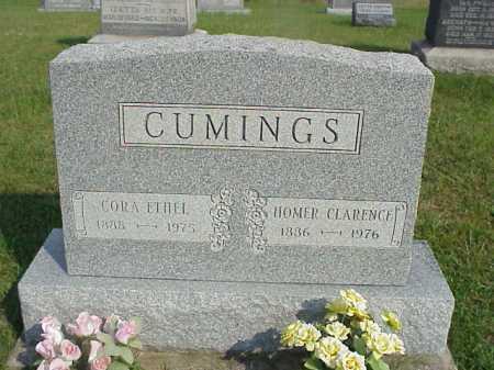 CUMINGS, CORA ETHEL - Meigs County, Ohio | CORA ETHEL CUMINGS - Ohio Gravestone Photos