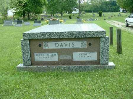 KELLER DAVIS, ALICE L. - Meigs County, Ohio | ALICE L. KELLER DAVIS - Ohio Gravestone Photos