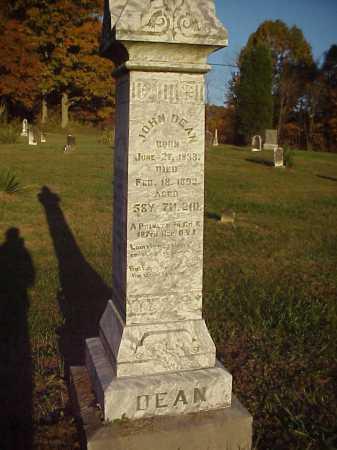 DEAN, JOHN - Meigs County, Ohio   JOHN DEAN - Ohio Gravestone Photos