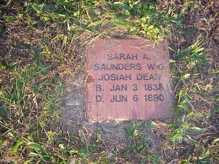 DEAN, SARAH A. - Meigs County, Ohio   SARAH A. DEAN - Ohio Gravestone Photos